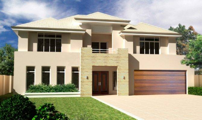 Two Storey House Design Endeavour Rosmond Custom Homes