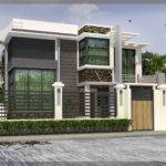 Two Storey Residential House Design Amazing Decors