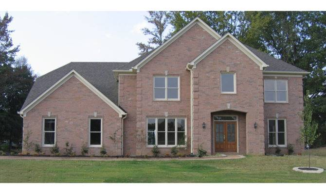 Two Story Brick House Plans