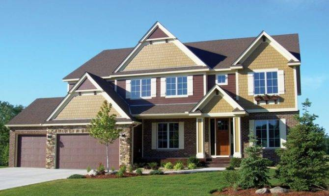Two Story Craftsman Lake House Plans Archives New Home