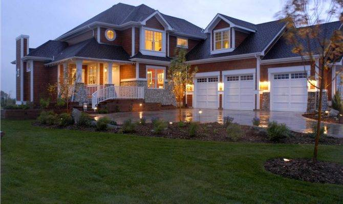 Two Story Four Bedroom Home Typical Shingle Style House Plan