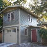 Two Story Garage Apartment Craftsman Exterior Tampa