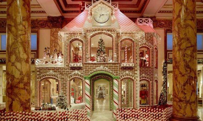 Two Story Gingerbread House Debuts Fairmont Hotel