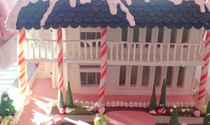Two Story Gingerbread House Replica Youtube