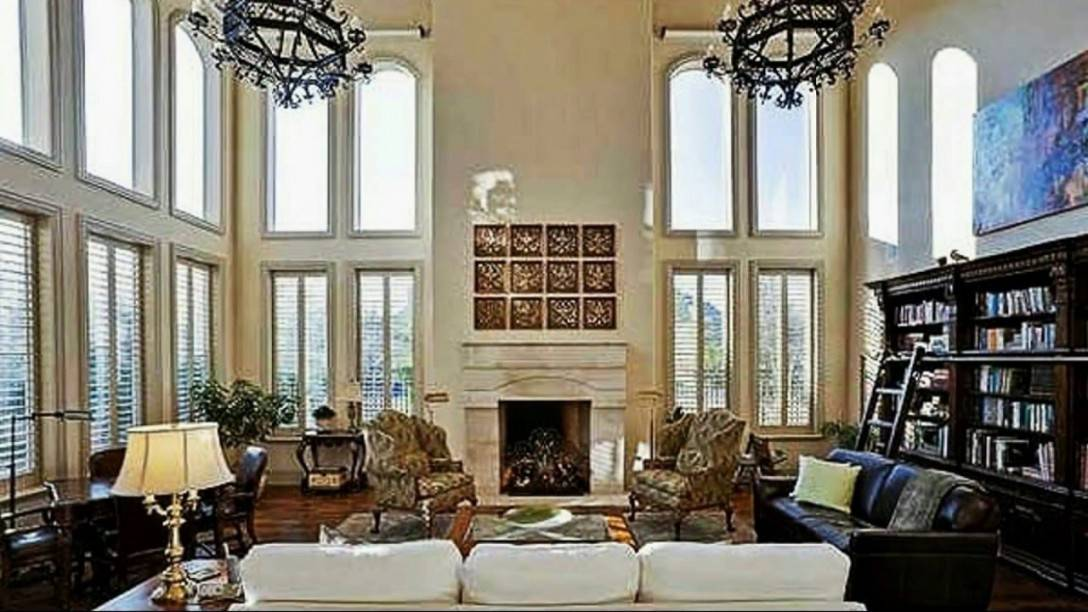 Two Story Great Rooms Design Ideas Youtube Living House Plans 136406