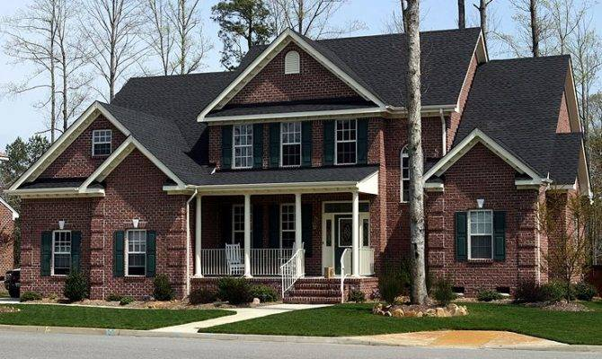 Two Story Home Plans Country Traditional House