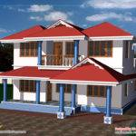 Two Story House Plan Home Appliance