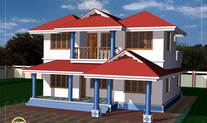 Two Story House Plan Kerala Home Design Floor