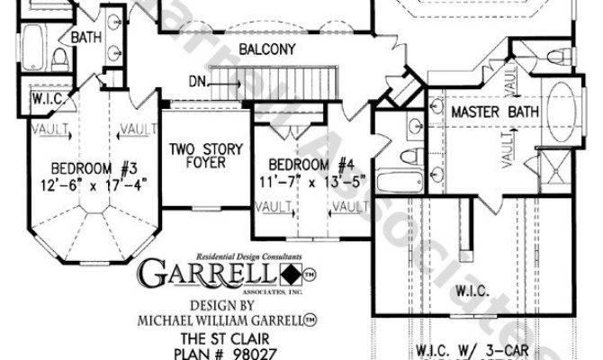 Two Story House Plans Basement Elegant Clair