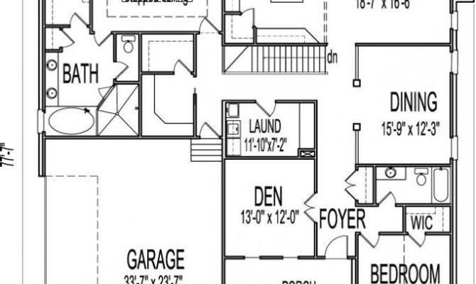 Two Story House Plans Basement Lovely Floor