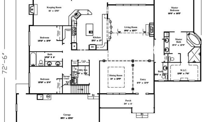 Two Story House Plans Home Deco