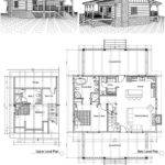 Two Story Log Cabin House Plans Cool Best Floor