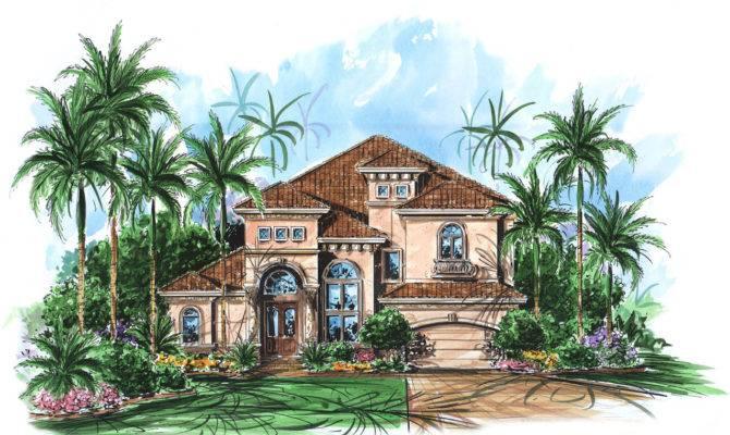 Two Story Mediterranean House Plan