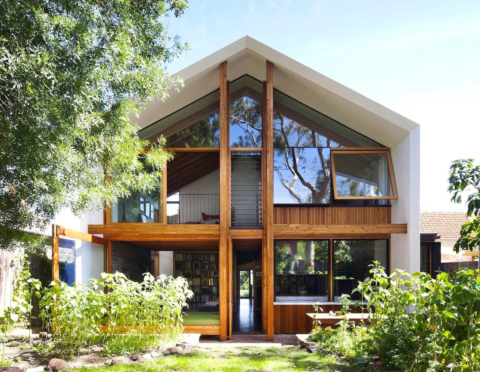 Two Story Mid Century Modern House Plans - House Plans ...