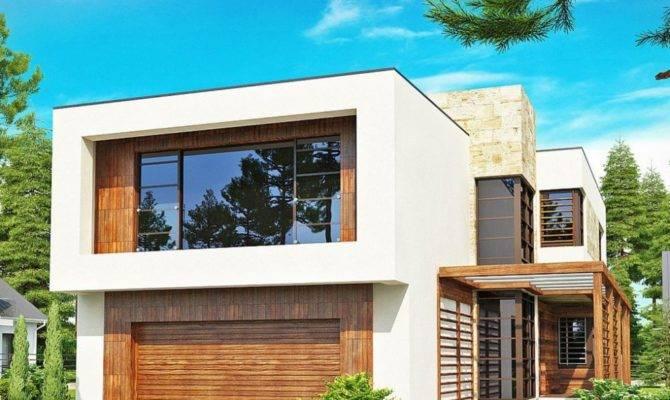 Two Story Modern House Plans Houz Buzz