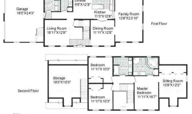 Two Story Open Concept House Plans Andreacortez Info