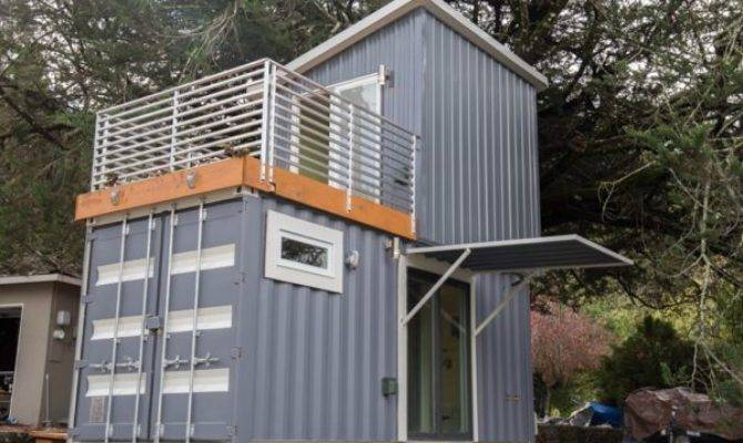 Two Story Shipping Container Tiny House Sale House Plans 160132