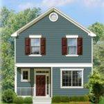 Two Story Traditional House Plan Floor