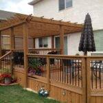Two Tier Decks Pinterest Pin
