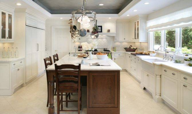 Two Tone Ceiling Kitchen Cathedral Ideas Pinterest