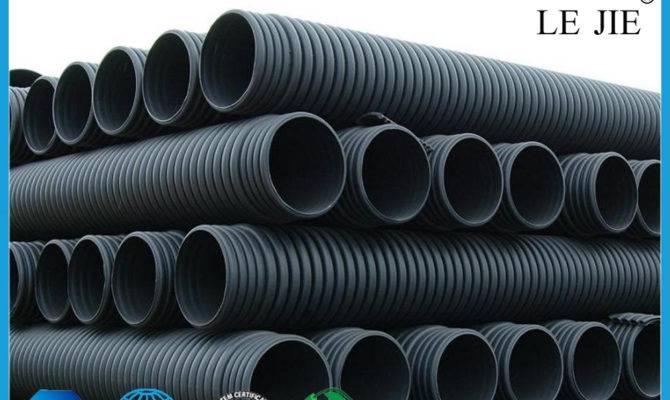 Types Corrugated Plastic Drainage Pipe Buy