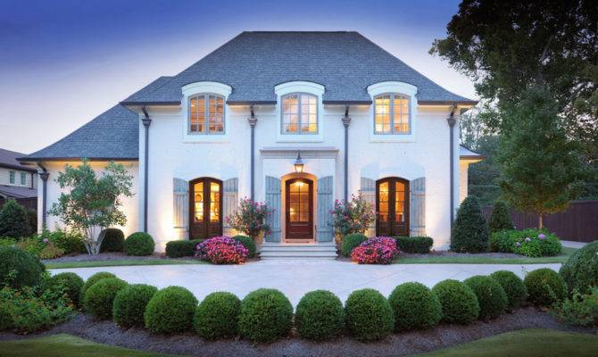 Types Elegant French Style Homes Designs