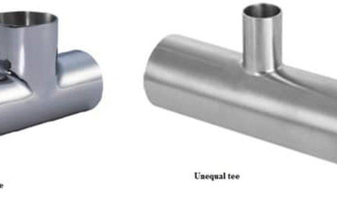 Types Pipe Fittings Plumbing System Different