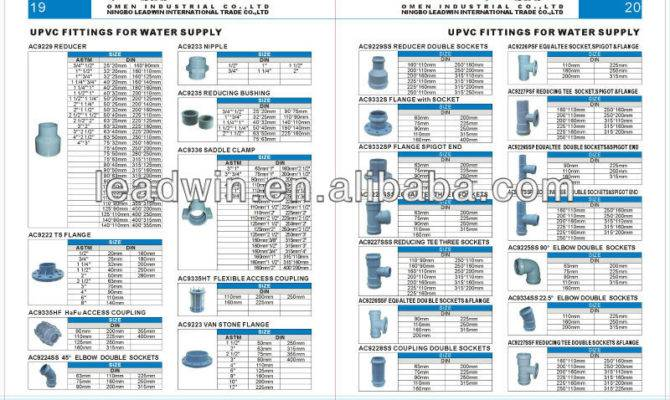 Types Pipe Fittings Water Supply Buy Different