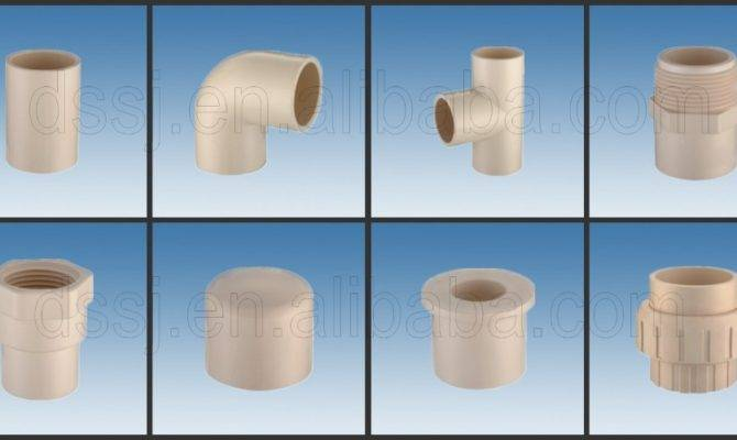 Types Plumbing Materials Plastic Pvc Pipe Fittings