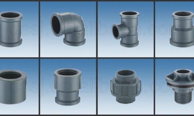 Types Plumbing Materials Plastic Pvc Pipe Fittings