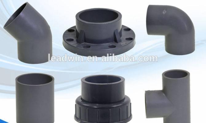 Types Pvc Plastic Pipe Fitting Buy