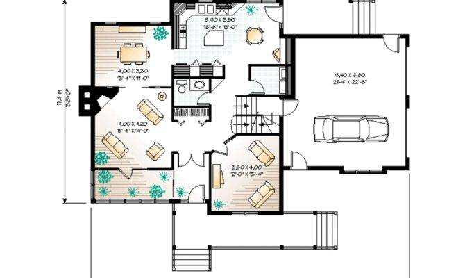 Typical American House Floor Plan House Plans 126917