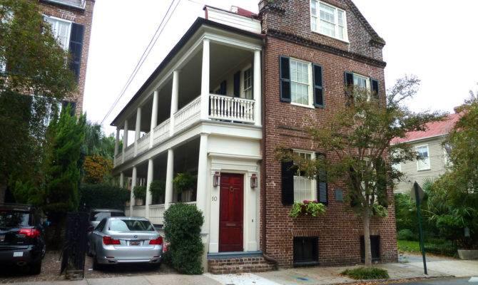 Typical Charleston Single House