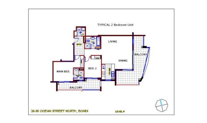Typical Floor Plan Bedroom Unit Can Pdf