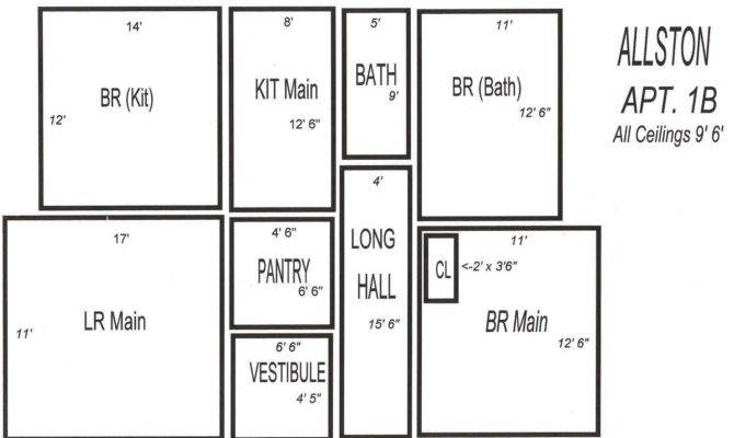 Typical Large Bedroom Floor Plan