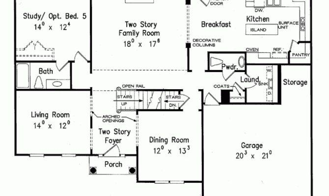 Typical Suburban House Layout Eplans Colonial Plan
