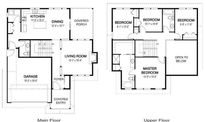 Typical Suburban House Layout Limbert Floor Plan