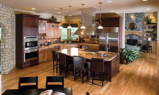 Ultimate Kitchens Luxury House Plans More