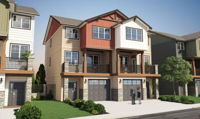 Ultra Modern Duplex House Plans Home Design Style