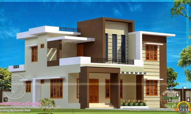 Ultra Modern Flat Roof House Plans