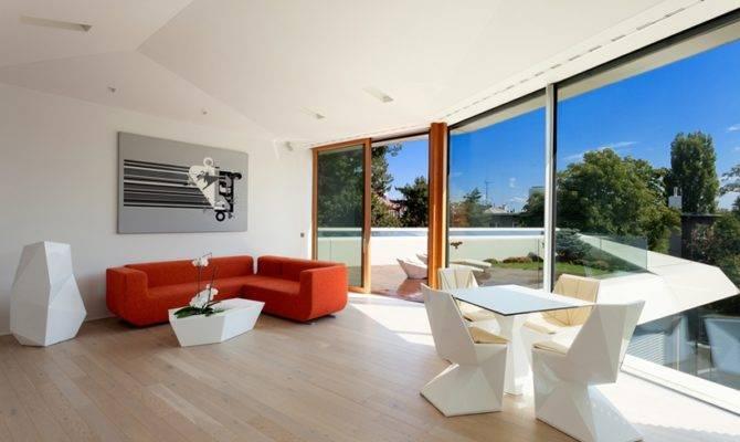 Ultra Modern House Architekti Slovakia Architecture