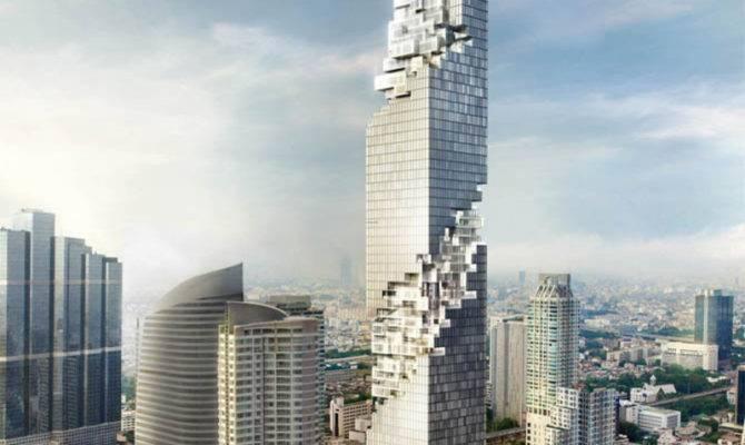 Ultra Modern Luxurious Thailand Architecture Building