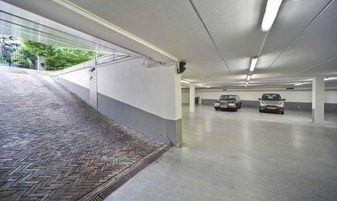 Underground Car Garage Design Close Idea