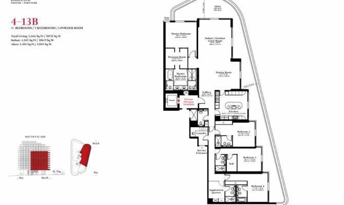 Underground Home Plans Faena House Floor