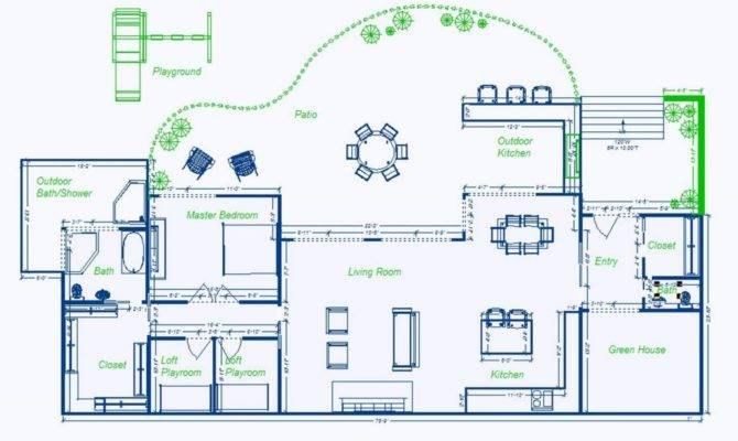 Underground Homes Floor Plans New Earth Sheltered