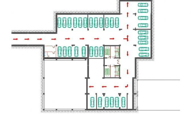 Underground Parking Garage Plans Residential Complex Quot Buzand House Plans 2103