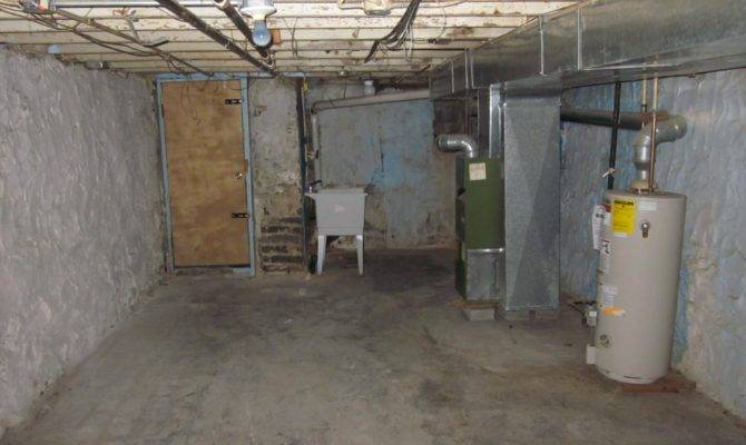 Unfinished Basement Row House Investments