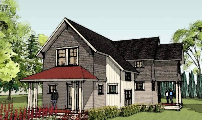 Unique Cottage Home Designs Style