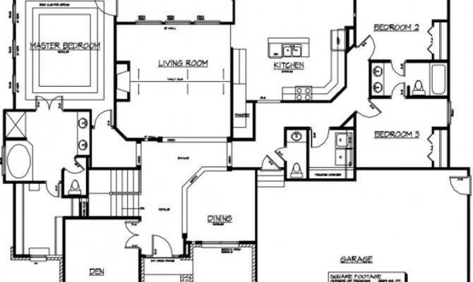 Unique Custom Homes Plans Built Home Floor