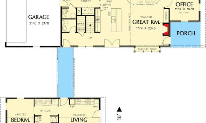Unique Dog Trot House Plan Architectural
